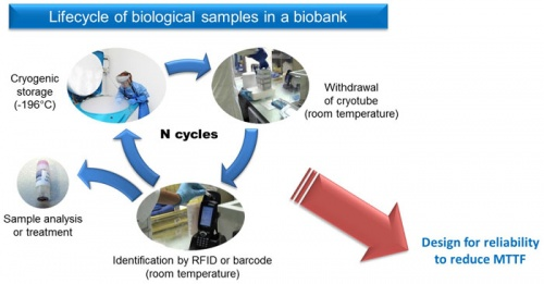 RFID tags for cryogenic applications  Experimental and numerical analysis of thermo-mechanical behaviour