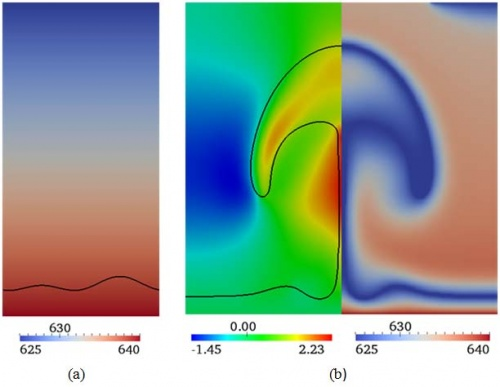 Boiling flow simulations on adaptive octree grids
