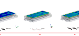 Quantification of silicone degradation for LED packages using finite element analysis