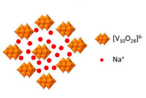 Vanadium-based polyoxometalate as new material for sodium-ion battery anodes