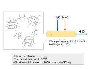 Preparation of POSS-derived robust RO membranes for water desalination - advances in engineering