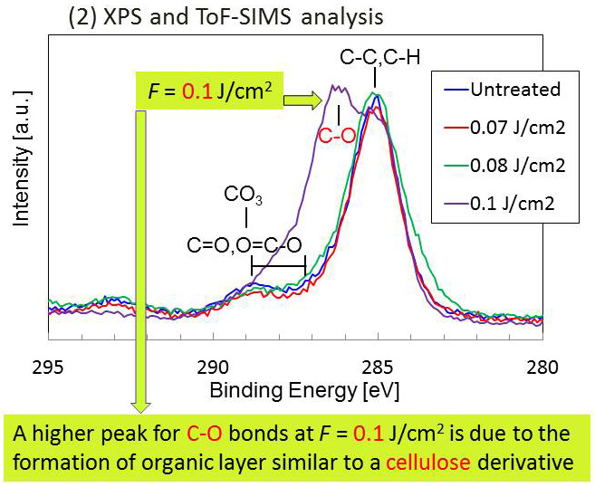 Formation of Organic Layer on Femtosecond Laser-Induced Periodic Surface Structures-2- Advances in Engineering