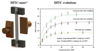 interfacial heat transfer coefficient for a hot aluminium stamping process-Advances in Engineering