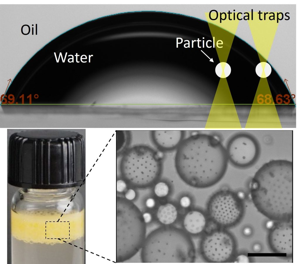 Heterogeneous interface adsorption of colloidal particles. Advances in Engineering