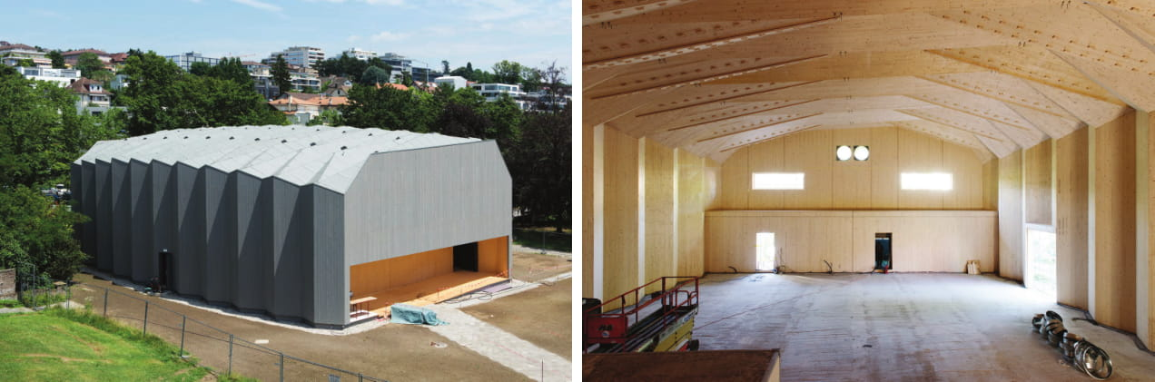 An innovative timber structure: the theatre of Vidy-Lausanne, Switzerland Or New timber construction system using wood connections. Advances in Engineering