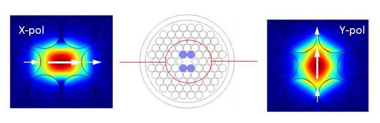 Metamaterial-inspired Photonic Crystal Fiber Exhibits High Birefringence - Advances in Engineering