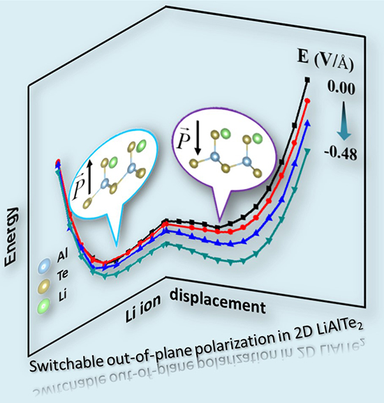 Peculiar Switchable Out-of-Plane Electronic Polarization in 2D material - Advances in Engineering