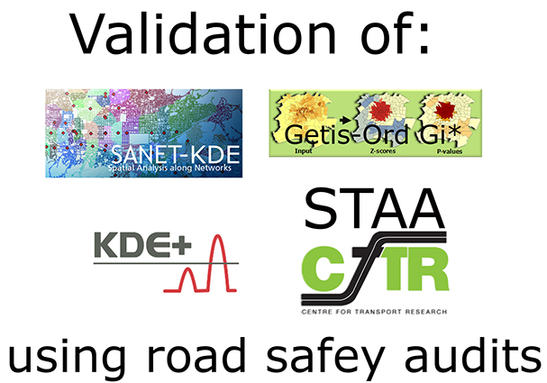 Can we validate GIS hotspot analysis methods of road traffic accidents? - Advances in Engineering
