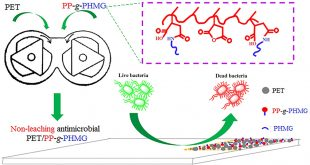 Enhancing the nonleaching antimicrobial performance of PET materials - Advances in Engineering