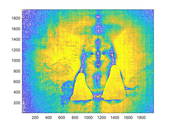 Analysis of UV photographs of the Shroud of Turin - Advances in Engineering