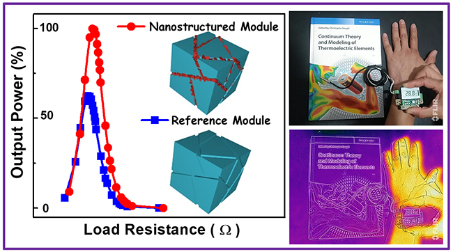 Nanostructured thermoelectric polycrystals for self-powering devices as from human body heat - Advances in Engineering