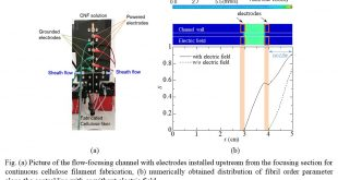 Numerical simulation on electrostatic alignment control of cellulose nano-fibrils in flow - Advances in Engineering
