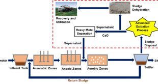Efficient dewatering and heavy-metal removal in municipal sewage using oxidants - Advances in Engineering