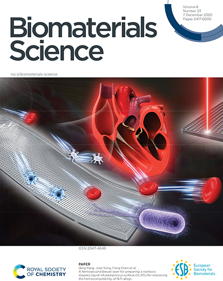 A femtosecond Bessel laser for preparing a nontoxic slippery liquid-infused porous surface (SLIPS) for improving the hemocompatibility of NiTi alloys - Advances in Engineering