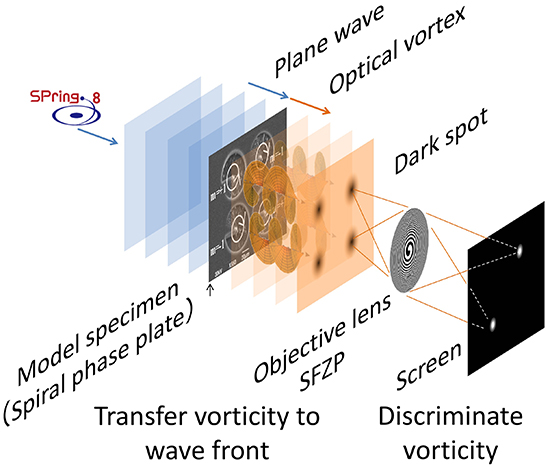 X-ray microscope for imaging distribution of spiral structures inside materials - Advances in Engineering