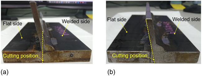 Measurement of residual stress at the weld root of rib-to-deck welded joints using the contour method - Advances in Engineering