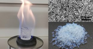 Combustion of sol-gel derived alcogels offers a novel route for preparation of aerogel-like oxide foams - Advances in Engineering