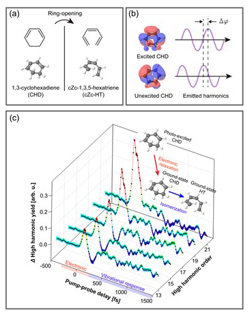 Observing electronic relaxation pathways towards isomerization - Advances in Engineering